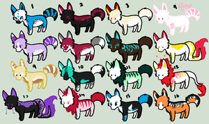 Free Adopts-Not the big one yet- by Evelent