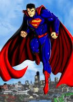 Superman 52 new suit by Madboy-Art