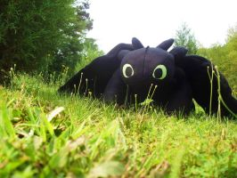 Toothless Plush by JeffrettaLyn