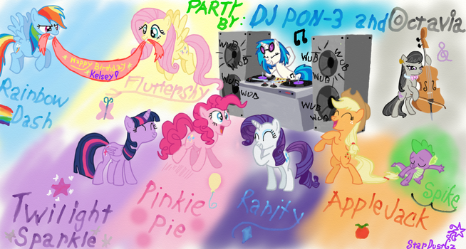 Birthday PARTY for Kelsey by StarDustCz
