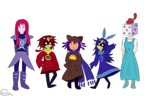 Oneshot Characters by B-L-A-H-2