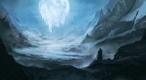 Follow the freezing moon by DrawingNightmare