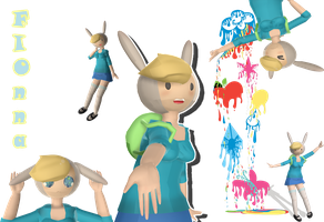 [MMD]Fionna Download by Nekomimi-Chan00