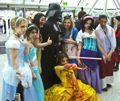 Zombie Disney and Vader MCM by snarkshot
