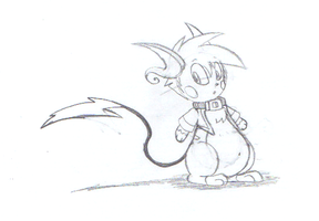 Drew Raichu -Sketch- by dragovian15