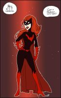 Batwoman's coming out by batlesbo