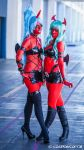 Scanty and Kneesocks Cosplay : Follow the Rules by Khainsaw