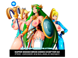 SMASH BROSS 02 LAST CHARACTER PALUTENA by Witchking00