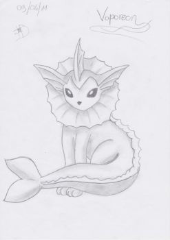 Vaporeon by flysims6