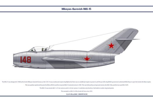 MiG-15 USSR 1 by WS-Clave