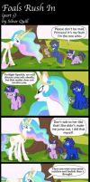Foals Rush In (part 3) by MLP-Silver-Quill