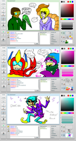 Iscribble with NathanOM by Red-RainGoddess
