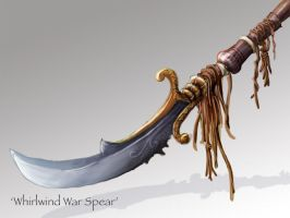 Dragonborn's War Spear by Shrinecat