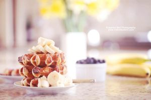 Waffles for Breakfast - Day 80 by rosannabell