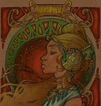 Mucha Girl by fab by szabgob