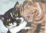 Custom Cats ACEO by The-GoblinQueen