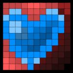 blue heart by guto