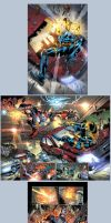 Deathstroke 13 sequential selects by juan7fernandez
