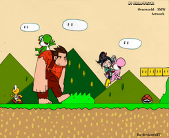 Journey around Overworld ~ Super Mario World by Reallyfaster