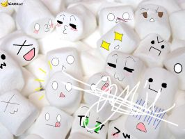 If MARSHMELLOWS had emotions.. by heyitsjulie