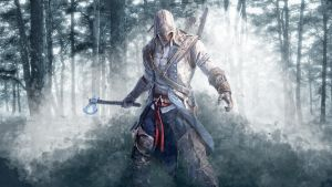 Assassin's Creed 3 - Connor's Wallpaper by TheSyanArt