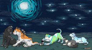 Stargazing Commission by zigan-with-felines