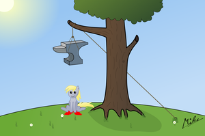 Derpy get's Pranked Part 1 by Hovel