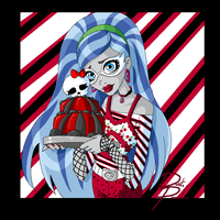 Monster High Birthday Ghoulia by Chibi-Warmonger