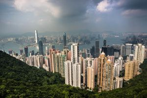 Victoria Peak, Hong Kong by cwaddell