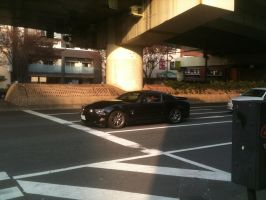 Ford Mustang in Japan by NissanGTRFan