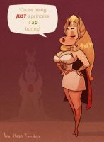 She-Ra - Cartoon PinUp by HugoTendaz