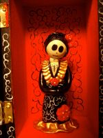 another catrina in box by alteredboxes