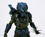NECA Lost Predator custom painted figure 01 by SolidAlexei