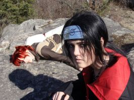 Gaara's death by Itachi by Tyliss
