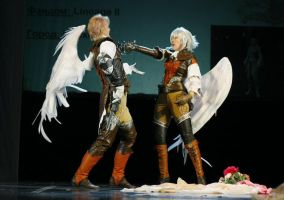 LineAge II on-stage by Hide-Out: killer by ElenaLeetah