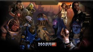 Mass Effect 2 Wallpaper by zeebow14