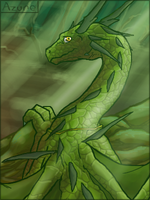 Green Dragon by Chromamancer