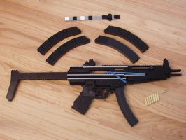 Heckler and Koch MP5 A5 - LEGO by xjcdentonx