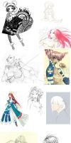 Sketch Dump 2011 by Kutty-Sark