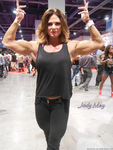 Jody May At The 2014 Olympia by zenx007
