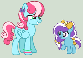 Mia and Gracie Adopts CLOSED by Jess4horses