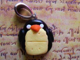 Fimo Biscuit-Pinguin by Ane-Mariee