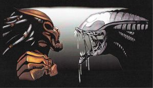 Alien vs. Predator by ShevGojira