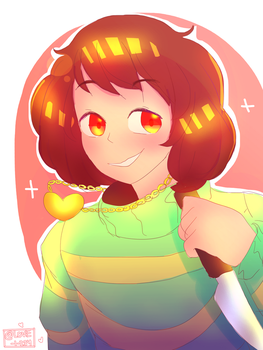 Chara  by LovelyArtist1234