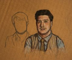 Mumford and Sons WIP by K1D6R4Y