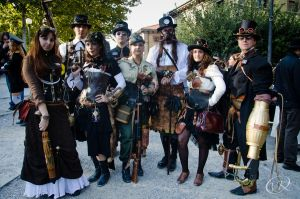Lucca ComicsandGames 2011 by Steampunk-Italia