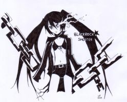 Black Rock Shooter by williamtio