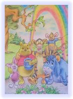 Winnie the Pooh and Friends by MichelleWalker
