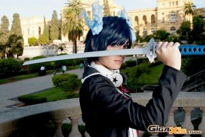 Ao no Exorcist: Okumura Rin by jyudaime