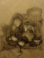 Traditional still life II by ShastinaHell-N